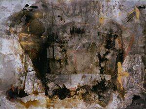 Zorn 97x130 cm - Técnica mixta sobre zinc 1996