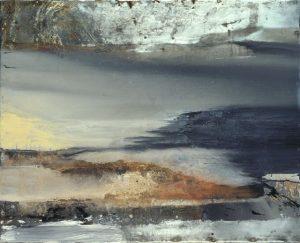 Pic01 alnaz 100x100 cm - Técnica mixta sobre zinc 1997