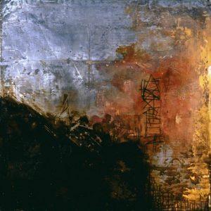 Pic03e vesala 100x100-cm - Técnica mixta sobre zinc 1997