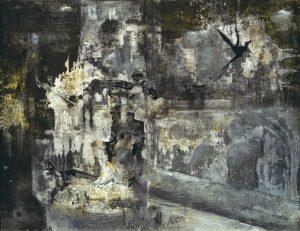 Pic04 debris 114x146 cm - Técnica mixta sobre zinc 1998