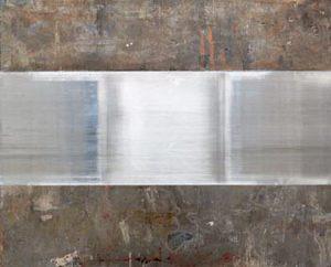 Pic04 reel 81x100 cm - Técnica mixta sobre zinc 2002