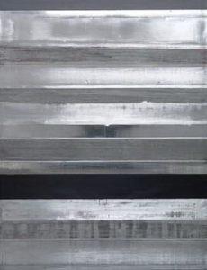 Pic05 líneas de frente - Técnica mixta sobre zinc 2002