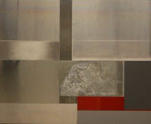 Pic07 yugen 81x100 cm - Técnica mixta sobre zinc 2009
