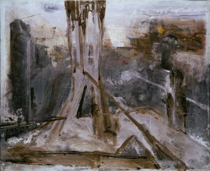 Pic07d maer 81x100 cm - Técnica mixta sobre zinc 1998