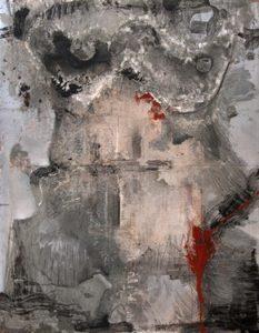 Pic08 eba 146x114 cm - Técnica mixta sobre zinc 1999