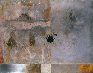 Pic10 Nude 114x146 cm - Técnica mixta sobre zinc 1999