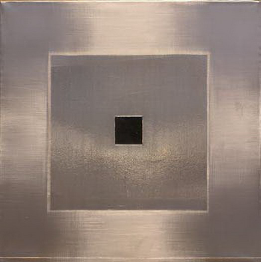 Pic15 webcam 20x20 cm - Técnica mixta sobre zinc 2004