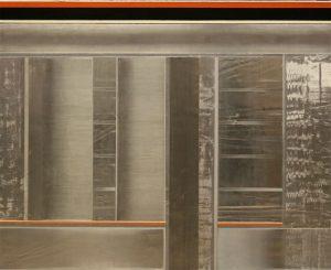Pic18 luna alicia 81x100 cm - Técnica mixta sobre zinc 2004